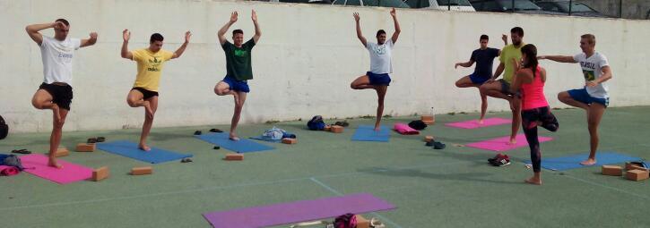 yoga natacion